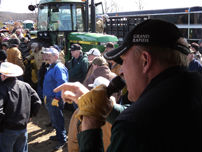 Farm Equipment auction of JD 4440