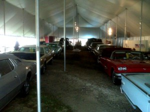 antiques and automobiles at auction