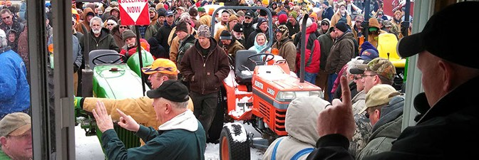 Voelker Spring Auction 2013 Big Rapids, MI.