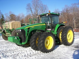 John FDeere 8430 sold at Voelker auction 2014