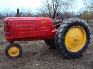 Photo of Massey Harris 101 Super Doyle Cleveland estate auction