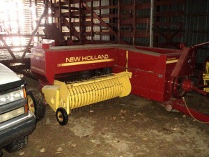 New Holland baler sold at New Salem consignment auction