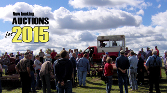 Book your auction for 2015