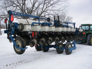 Kinze planter sold at Voelker auction 2014