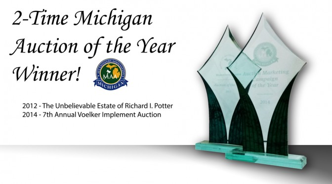 2 Time Michigan Auctioneers of the Year winners!