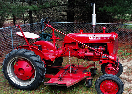 Richard Stora Farmall Tractor