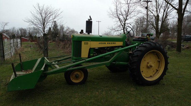 John Deere 630 Auction