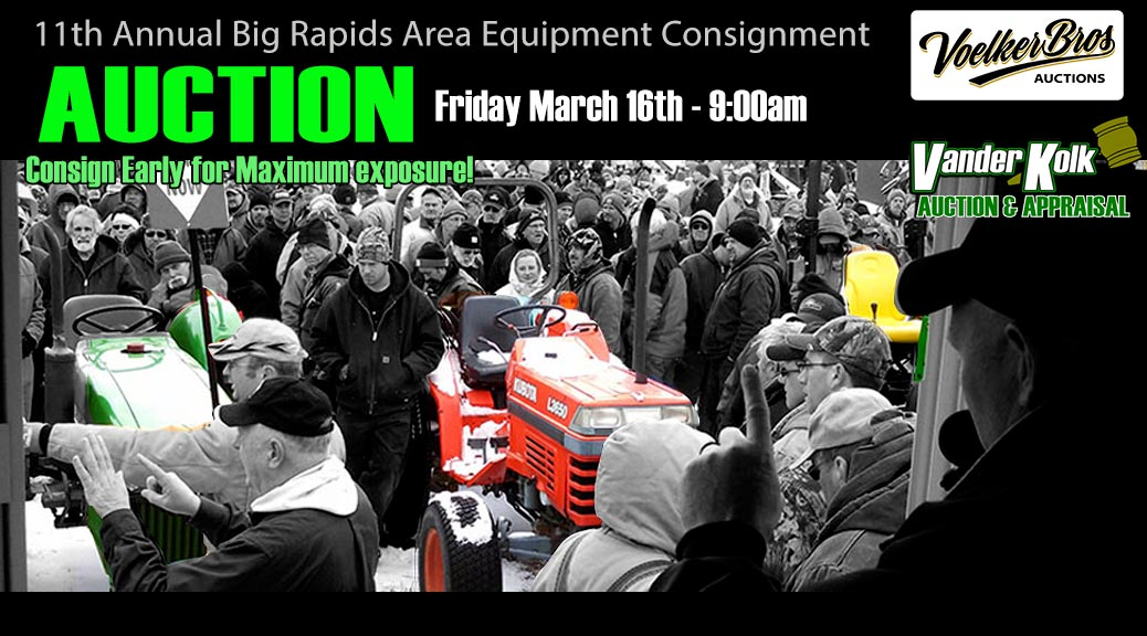 Big Rapids Equipment auction
