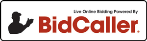 Bid Caller Logo and button