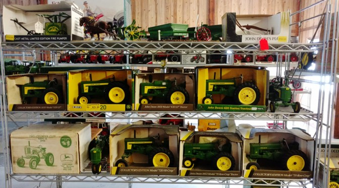 August 25th – 10AM –  Large Toy and Farm Toy Auction Paris, Michigan