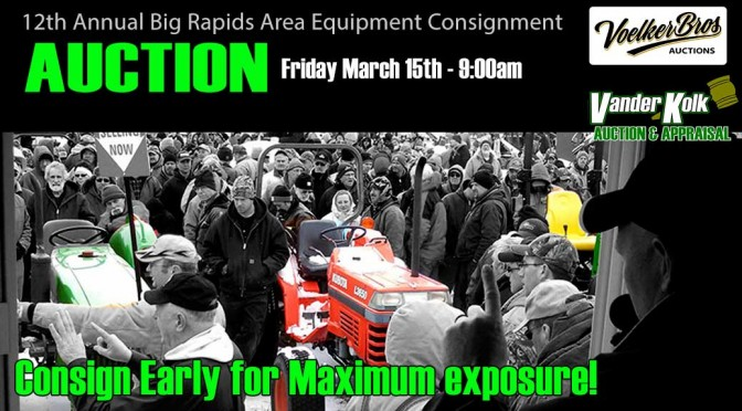 2019 Big Rapids Consignment Auction