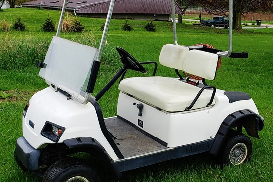 Golf cart to be sold at auction in Otsego michigan June 29 2019