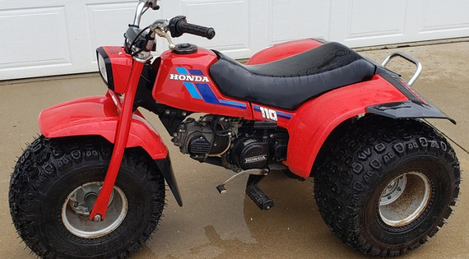Honda 3 wheeler to be sold at auction Dorr, Michigan