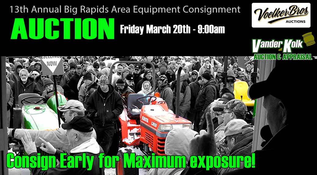 Big Rapids Consignment Auction