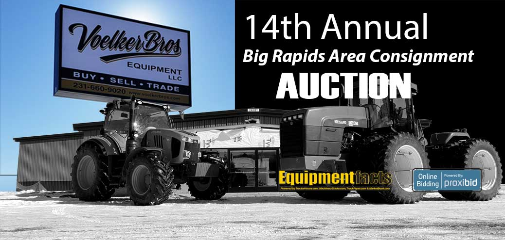 Big Rapids auction slider